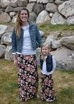 Maxi Skirt Mommy - Vintage Floral only $9.99 for girls and $14.99 for mommy. at www.gabskia.com also like us on facebook  https://www.facebook.com/gabskiaccessories