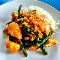 Homemade masaman curry tonight. I think I made @Ashley layne favourite dish! She gone on for eigths.... Sorry @Ashley layne there\'s none left!