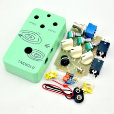 21.90$  Watch now - http://ali2d5.shopchina.info/1/go.php?t=32712981857 -  DIY Tremolo Effect pedal kits With 1590B  pre-drilled And 9 PIN 3PDT Foot Switches  true bypass   #buyonline