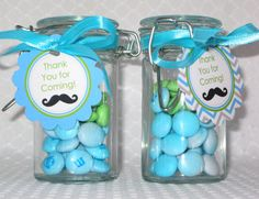 Little Man Mustache Bash Birthday Party/ Baby Shower- Personalized PRINTABLE Favor Tags