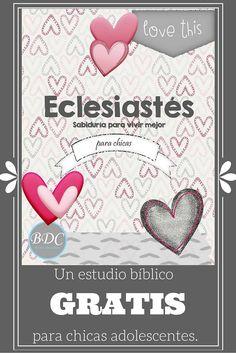 Estudio bíblico para chicas adolescentes, guía para aplicar el método EOAA de BDC y plan de lectura diaria. Totalmente gratis.
