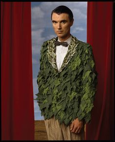David Byrne by Annie Leibovitz. David Byrne (born May 14, 1952) is a…