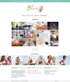 Feminine WordPress Theme for Girly Concept Blogs!