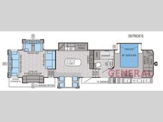 fifth wheel floorplans with second bedroom - google search