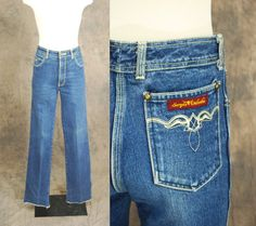 vintage 70s Jeans  Sergio Valente High Waist Straight by jessamity, $42.00