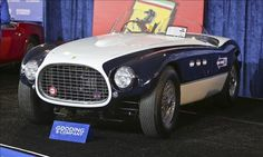 1953 Ferrari 340 MM Spyder sold at Monterey Car Auctions (August, 2012) $4.73 million © Rod Hatfield