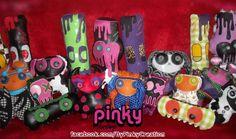 Pinky Factory, participante d'Everyday is Halloween for Us, Troisième Editon, 2013.   * La page d'Everyday: https://www.facebook.com/coffin.glok * SON SITE: https://www.facebook.com/ByPinkyCreation