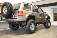 Jeep ZJ - Hanson Rear Bumper