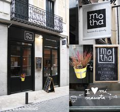 Motha Madrid restaurante best breakfasts ever in Madrid and cool space. Brunch Places, Spain Holidays, Sign Display, Shopping Street, Best Breakfast, Places To Go, Bar Ideas, Cool Stuff, Boutiques