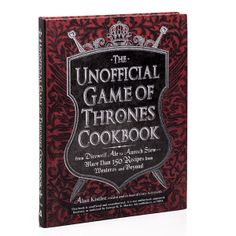 ThinkGeek :: The Unofficial Game of Thrones Cookbook......... Yeah, I have to have this.  Mhmm Game Of Thrones Cookbook, Plenty Cookbook, Cookbook Ideas, Kids Cookbook, Great Recipes, Cookbook Organization, Medieval Recipes, Game Thrones, Grilled Pork Chops