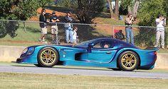 The Panoz Esperante GTR-1 homologation special at Petit Le Mans 2010