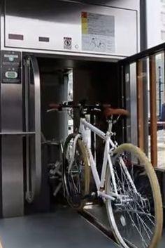 Japan's Underground Bike Elevator Is A Work Of Pure Genius