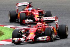 Kimi Raikkonen - Spanish F1 Grand Prix - Race