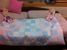 Colcha cama de grades