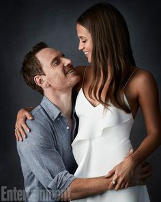 For Alicia Vikander and Michael Fassbender, their new film The Light Between…