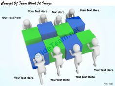 1113 Concept of Team Work 3D Image Ppt Graphics Icons Powerpoint #Powerpoint #Templates #Infographics