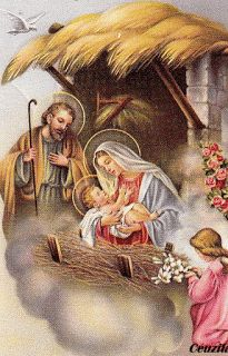 The Holy Family - Beautiful Nativity Scene Christmas Scenes, Christmas Nativity, Christmas Past, Christmas Pictures, Christmas Greetings, Catholic Christmas Cards, Merry Christmas Card, Religious Pictures, Jesus Pictures