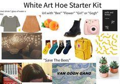 White Art Hoe Starter Kit - Me AF