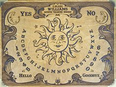 C Blake Williams Talking Boards Old Board Games, Witch Board, Ouija, Mystic, Boards, Spirit, Personalized Items, Planks