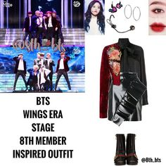 Kpop Fashion Outfits, Stage Outfits, Girl Outfits, Cute Outfits, Korean Skirt Outfits, Bts Clothing, Bts Girl, Bts Inspired Outfits, Korean Fashion