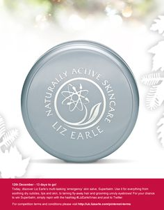 For a chance to win our Superbalm, simply repin and post to Twitter with #LizEarleXmas on 12 Dec!