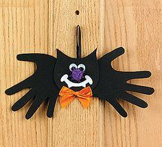 Cute bat craft idea!