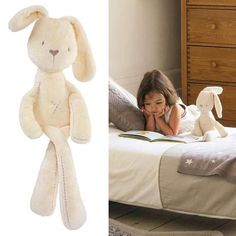 35*8cm Cute Bunny Baby Soft Plush Toys Mini Stuffed Animals Kids Baby Toys Smooth Obedient Sleeping Rabbit Doll-in Stuffed & Plush Animals from Toys & Hobbies on Aliexpress.com   Alibaba Group