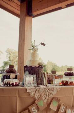 Rustic Wedding Decor Recepción