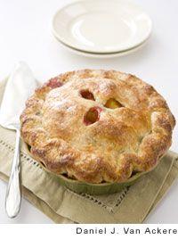 Raspberry-Nectarine Pie