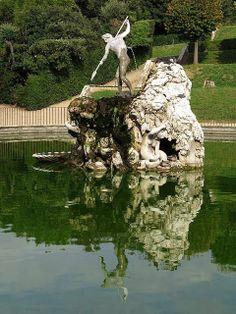 Neptune's fountain by Stoldo Lorenzi, 1571, Boboli Gardens, Florence