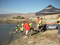 Water Landing - Tough Mudder Nevada