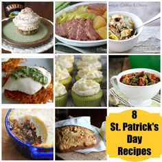 A delish St. Patrick's Day recipe roundup from @Vera Sweeney (Ladyandtheblog.com)
