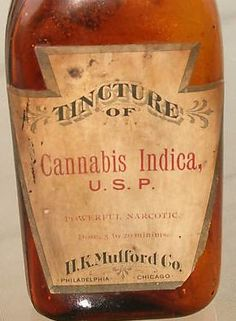 """During the month of September, I took Cannabis on various occasions,"" confessed Dr. Pierce in the pages of American Journal of Homoeopathic Materia Medica and Record of Medical Scie… Cannabis Oil, Vintage Medical, Medicine Bottles, Medical Cannabis, Medicinal Herbs, Hemp Oil, Retro, Drugs, Vintage Ads"