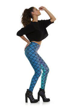 Leggings diseño exclusivo fabricado en España Modelo ESCAMAS www.legx.es
