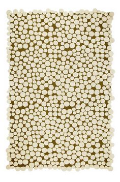 Rectangular Champinones Rug by Gandia Blasco (Champiñones Rug). This beautiful rectangular area rug was designed by Jose A. Gandia-Blasco for Gandia Blasco in Spain and is part of the modern rug colle