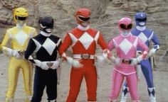 me+sister+power rangers=fighting over who was the pink ranger