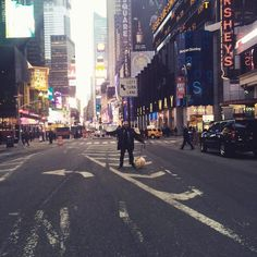 So much fun stuff happening in NY for #Cesar911. #BensonInTheBigApple