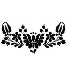 """Képtalálat a következőre: """"embroidery models"""" Stencil Painting, Painting Patterns, Fabric Painting, Hungarian Tattoo, Hungarian Embroidery, Foto Magazine, Quilt Border, Silhouette Cameo Projects, Hand Embroidery Patterns"""