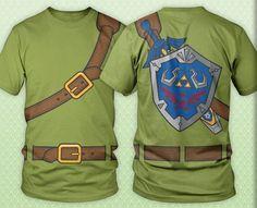 Link shirt. :-o Legend of Zelda, brotha!