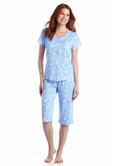 5f8a878918 Karen Neuburger Short Sleeve Cardigan Capri Pajama Set. This adorable pajama  set is perfect for any butterfly lover! sulardy · Sexy pajamas sets