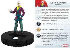 Justin Hammer #008 Invincible Iron Man Booster Set Marvel Heroclix