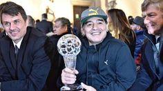 """Maradona: """"La AFA es la casa de Los Locos Addams""""   Diego Maradona está cada vez más involucrado en la actualidad del fútbol argentino. Con el aval del presidente de la FIFA, Gianni Infantino, el e... http://sientemendoza.com/2017/01/25/maradona-la-afa-es-la-casa-de-los-locos-addams/"""