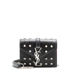 mytheresa.com - Candy Monogramme studded leather shoulder bag - Shoulder bags - Bags - Luxury Fashion for Women / Designer clothing, shoes, bags
