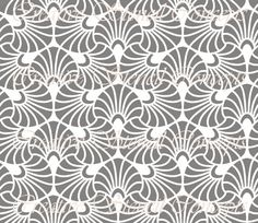 Ornamental Seamless Decorative Stencil MULTIPLE SIZES AVAILABLE on Industry Standard 12 Mil Mylar Design 102991340