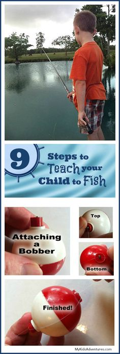 How to Fish: Teach Your Kids Fishing in 9 Easy Steps #MyKidsAdventures