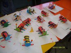 Ladybug & Bumblebee crafts