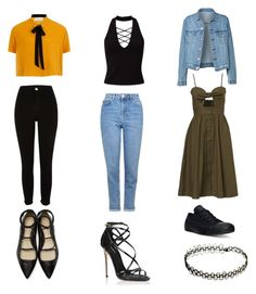 """""""My style"""" by pelupelud on Polyvore featuring River Island, Elvi, Miss Selfridge, Topshop, Converse, 3.1 Phillip Lim and Dolce&Gabbana"""