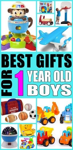 1 year old boy gift ideas! Find fun gifts for one year old baby boys. This is the ultimate one year old boy gift guide that moms and parents will love. You can always DIY your gifts and toys but shopping for first birthday boy products is so cool. Get awesome birthday gifts or Christmas gifts for the one year old boy in your life.