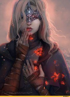 Fire keeper, DSIII characters, Dark Souls 3, Dark Souls, fandoms