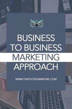 B2B marketing: Grow